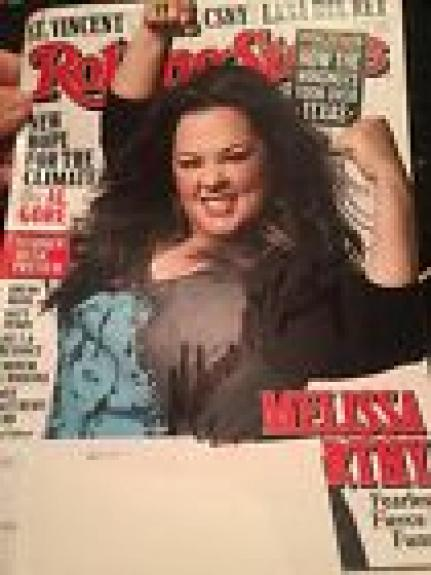 MELISSA MCCARTHY SIGNED AUTOGRAPH ROLLING STONE MAGAZINE JSA Ghostbusters
