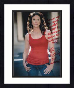 MELISSA PONZIO HAND SIGNED 8x10 PHOTO+COA      KAREN FROM THE WALKING DEAD