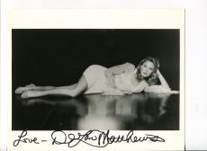 DeLane Matthews Dave's World The Shield Saving Grace Signed Autograph Photo