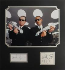 Men in Black (2) Signed Matted Display- Will Smith & Tommy Lee Jones PSA/DNA COA