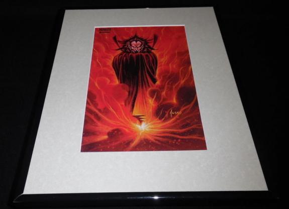Mephisto Marvel Masterpiece ORIGINAL 1992 Framed 11x14 Poster Display