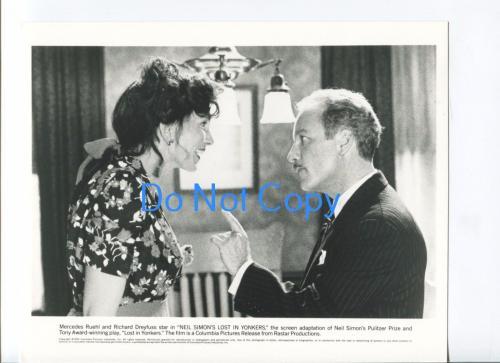 Mercedes Ruehl Richard Dreyfuss Lost In Yonkers Original Movie Press Photo
