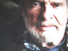 Merle Haggard Autographed Signed 11x14 Poster Photo UACC RD AFTAL COA
