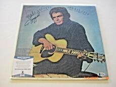 Merle Haggard Its Not Love Singer Beckett/coa Signed Lp Record Album