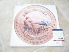 Merle Haggard Signed Autographed The American LP Record PSA Certified