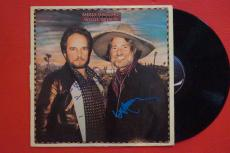 Merle Haggard & Willie Nelson Signed Autographed Pancho & Lefty Record Album LP