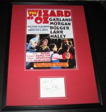 Mervyn Leroy Signed Framed 18x24 Photo Display JSA Wizard of Oz Producer