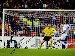 """Lionel Messi FC Barcelona B Autographed 16"""" x 12"""" 2009 Goal Photograph"""