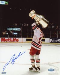 Mark Messier New York Rangers Autographed '94 Stanley Cup Celebration 8'' x 10'' Photograph - Mounted Memories