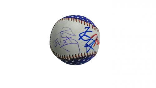 Metallica Autographed Signed Kirk Hammett Robert T Fender Baseball PSA AFTAL