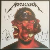 "METALLICA ""Hardwired To Self Destruct"" deluxe Box Set signed by 3 band members"