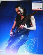 METALLICA Kirk Hammett signed 11 x 14. Death Magnetic, Stone Cold Crazy, PSA/DNA