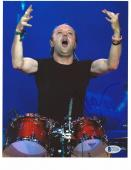 METALLICA LARS ULRICH signed autographed 8x10 PHOTO BECKETT COA! (BAS)