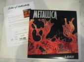 METALLICA Signed LOAD Album w/ PSA LOA - HETFIELD, ULRICH, HAMMETT & NEWSTED