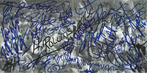 Metallica Steven Tyler Slash Henry Rollins 34x Signed Woodstock CD Book PSA/DNA
