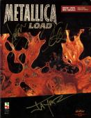 Metallica X4 Load Tablature Book Autographed Signed Cover AFTAL UACC RD COA
