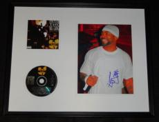 Method Man Signed Framed 16x20 CD & Photo Display Enter the Wu-Tang 36 Chambers