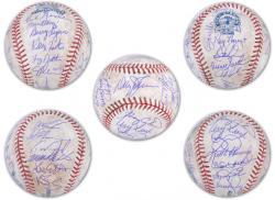 Rawlings New York Mets 1986 Team Signed Autographed Final Season Game-Used Baseball