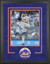 "New York Mets Deluxe 16"" x 20"" Vertical Photograph Frame - Mounted Memories"