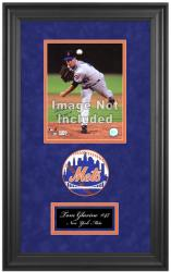 "New York Mets Deluxe 8"" x 10"" Team Logo Frame - Mounted Memories"
