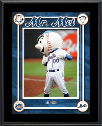 New York Mets Mascot Sublimated Photo 10.5x13 Plaque