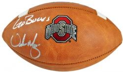 "Urban Meyer Ohio State Buckeyes Autographed Wilson Football with ""Go Bucks"" Inscription"