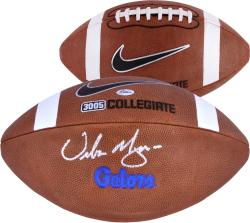 Urban Meyer Florida Gators Autographed Nike Gators Embossed Football