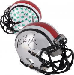 Fanatics Authentic Autographed Urban Meyer Ohio State Buckeyes Riddell Mini Helmet