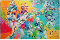 Miami Dolphins Perfect Season Team Signed Giclee-Limited Edition of 72