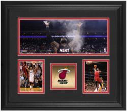 NBA Miami Heat Framed 3-Photo Collage