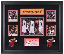 NBA Miami Heat 5-Photo Collage