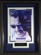 Miami Vice signed 22X30 Masterprint Poster Custom Rope Framed w/ Jamie Foxx & Colin Farrell (entertainment/photo)