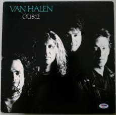 Michael Anthony Signed Van Halen Ou812 Album Cover Autographed Psa/dna #t86303