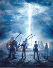 Michael B. Jordan Signed 8x10 Photo Fantastic Four Authentic Autograph Coa A
