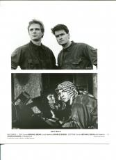 Michael Biehn Charlie Sheen Navy Seals Original Movie Still Press Photo