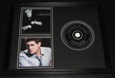 Michael Buble Framed 11x14 CD & Photo Display