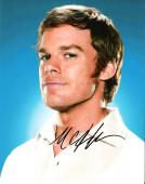 "MICHAEL C. HALL - Best Known for his Role as DEXTER MORGAN in TV Series ""DEXTER""  Signed 8x10 Color Photo"