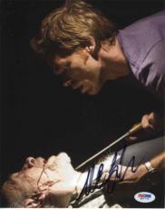 MICHAEL C HALL Dexter Autographed Signed 8x10 Photo Certified PSA/DNA COA