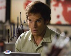 MICHAEL C HALL Dexter Autographed Signed 8x10 Photo Certified PSA/DNA