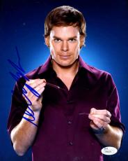 Michael C Hall Dexter Jsa Signed 8x10 Photo Authentic Autograph