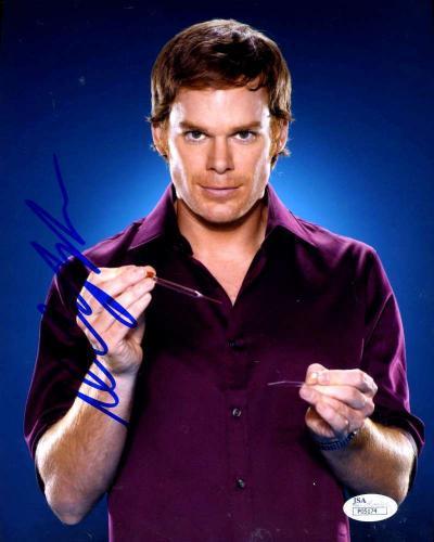 Michael C Hall Dexter Jsa Signed 8x10 Photo Authentic Autograph