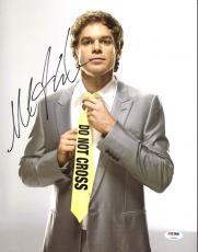 Michael C. Hall Dexter Signed 11X14 Photo Autographed PSA/DNA #Z90344