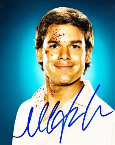 Michael C Hall Dexter Signed 8x10 Photo Authentic Autograph Hbo Proof Coa A