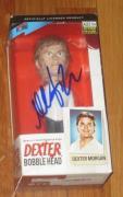 Michael C Hall Dexter Signed Dexter Bobble Head Toy Official Autograph Coa A