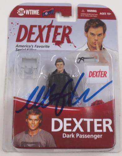 Michael C Hall Dexter Signed Dexter Figure Toy Official Autograph Coa B