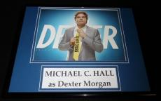 Michael C Hall Framed 11x14 Dexter Photo Display