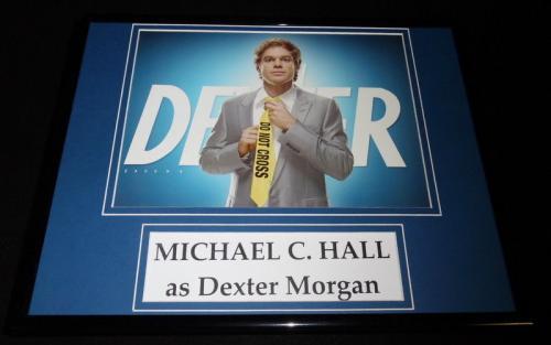 Michael C Hall Framed 11x14 Dexter Photo Display