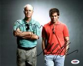 "MICHAEL C. HALL & JOHN LITHGOW Signed ""DEXTER"" 8x10 Photo PSA/DNA #AD28598"