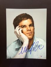 Michael C Hall Signed 11x14 Photo Autograph Psa Dna Coa Dexter Proof