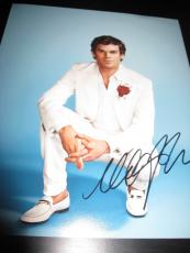 MICHAEL C HALL SIGNED 8x10 DEXTER PROMO PHOTO IN PERSON COA AUTO RARE PROOF X8